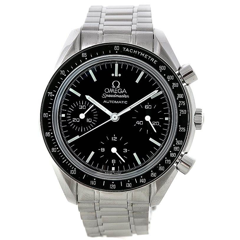 8341 Omega Speedmaster Reduced Automatic Mens Watch 3539.50.00 SwissWatchExpo