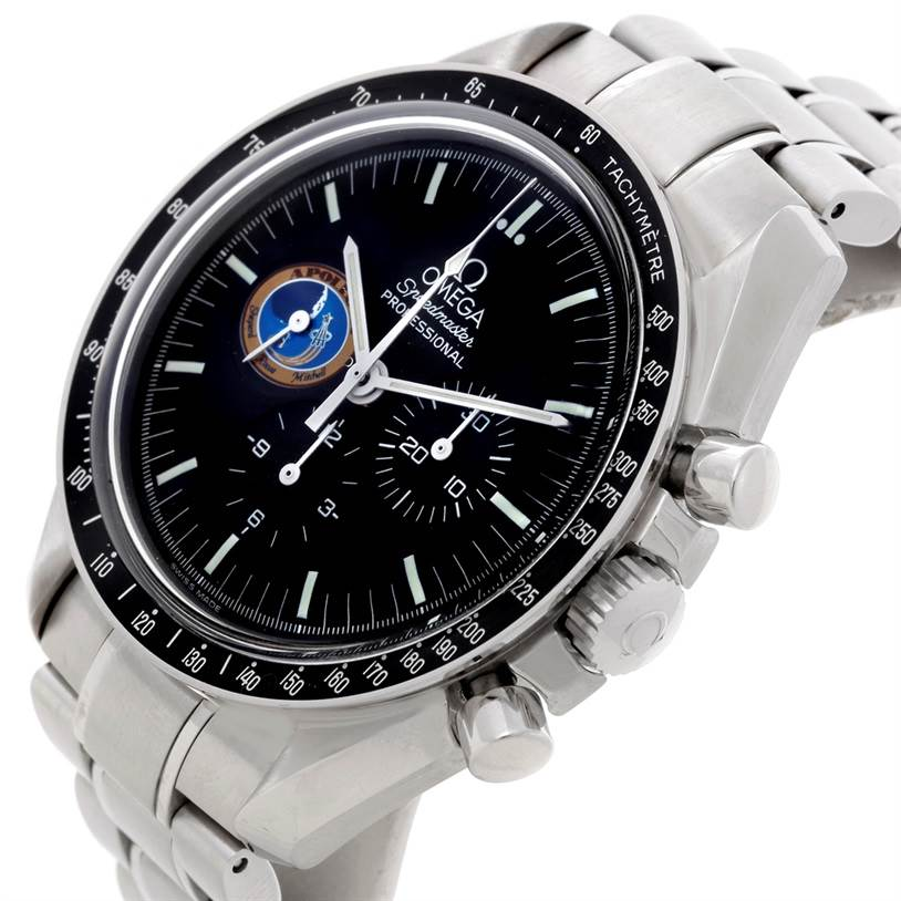 8338 Omega Speedmaster Moon Missions Apollo XIV Watch 3597.17 SwissWatchExpo