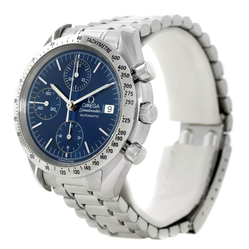 8321 Omega Speedmaster Automatic Date Mens Watch 3513.80.00 SwissWatchExpo