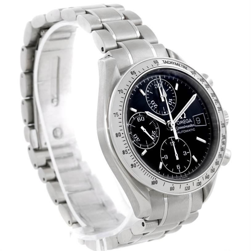 omega speedmaster date mens automatic watch. Black Bedroom Furniture Sets. Home Design Ideas