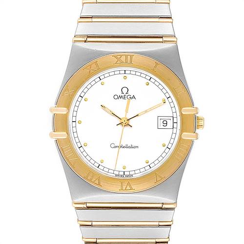 Photo of Omega Constellation Steel 18K Yellow Gold Mens Watch 396.1076