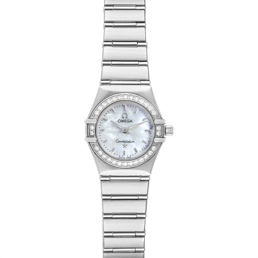 Photo of Omega Constellation My Choice Mini Diamond Steel Watch 1466.71.00