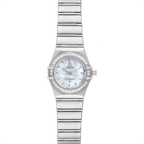 Photo of Omega Constellation My Choice Mini Diamond Steel Watch 1466.71.00