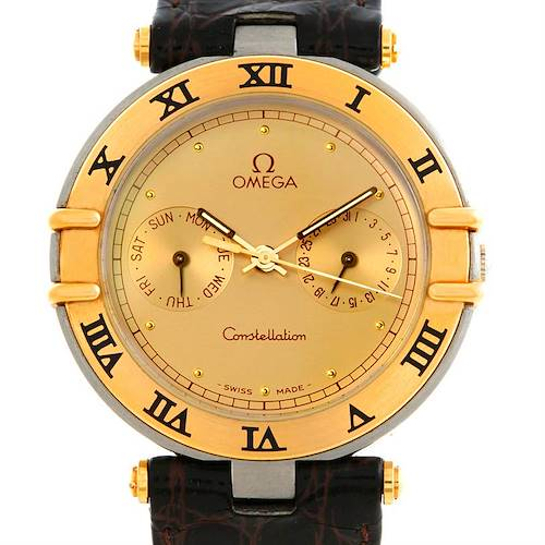 Photo of Omega Constellation Steel and Gold Mens Watch