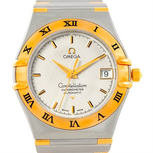 Photo of Omega Constellation Steel 18K Yellow Gold Mens Watch 1302.00.00 Unworn