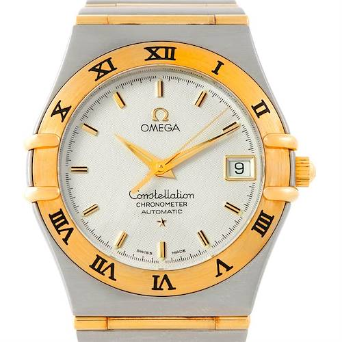 Photo of Omega Constellation Steel 18K Yellow Gold Mens Watch 1202.30.00 Unworn
