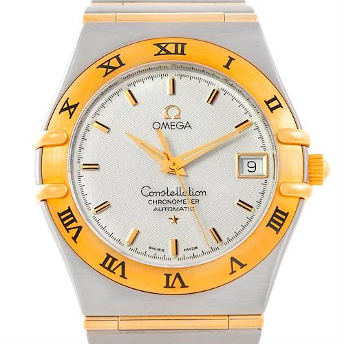 Photo of Omega Constellation 1202.30.00 Steel 18K Yellow Gold Mens Watch Unworn