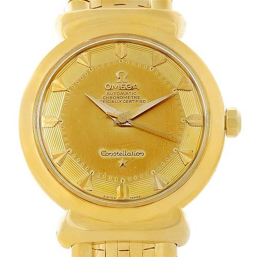 Photo of Omega Constellation Grand Luxe 18K Yellow Gold Watch 14365
