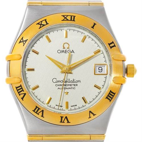 Photo of Omega Constellation Mens Steel 18K Yellow Gold Watch 1202.30.00
