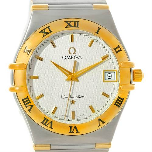 Photo of Omega Constellation Steel 18K Yellow Gold Mens Watch 1312.30.00