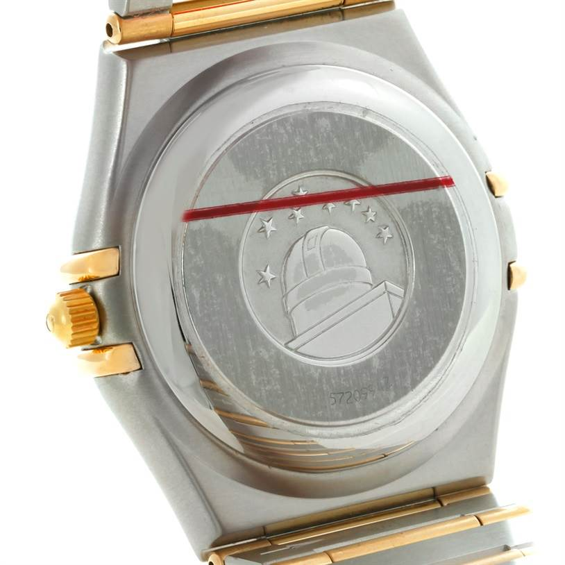 8553 Omega Constellation Perpetual Calendar Mens Watch 1252.30.00 SwissWatchExpo