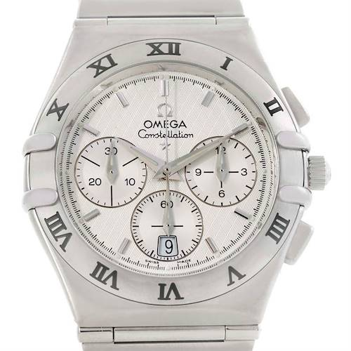 Photo of Omega Constellation Mens Stainless Steel Chronograph Watch 1542.30.00