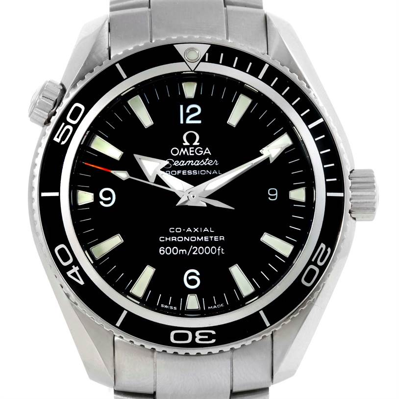 10116 Omega Seamaster Planet Ocean Mens 42mm Co-Axial Watch 2201.50.00 SwissWatchExpo