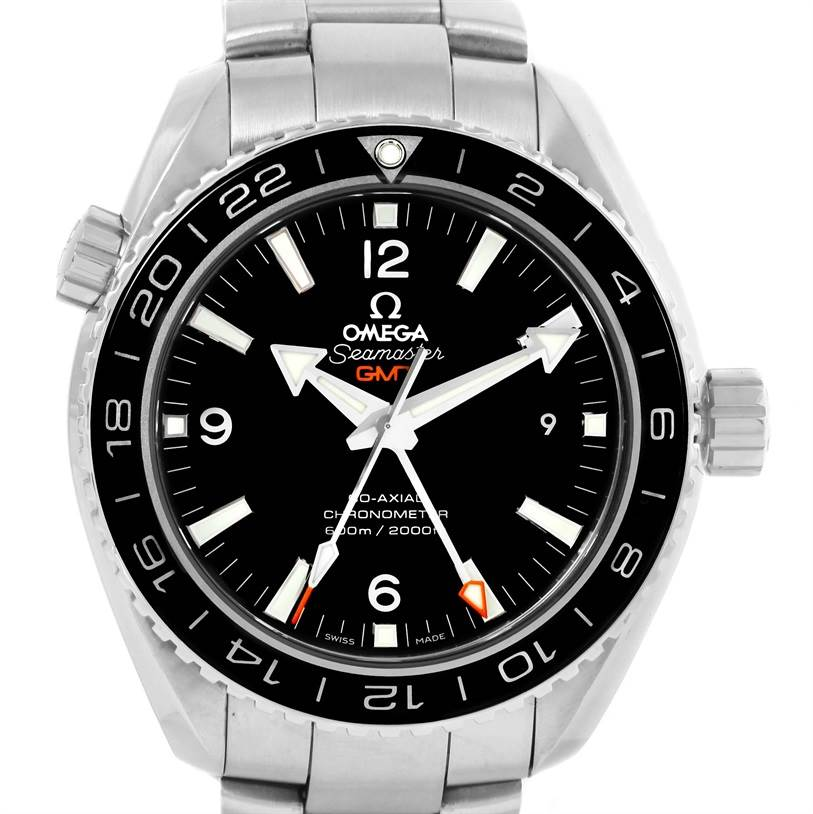 Omega Seamaster Planet Ocean GMT 600m Watch 232.30.44.22.01.001