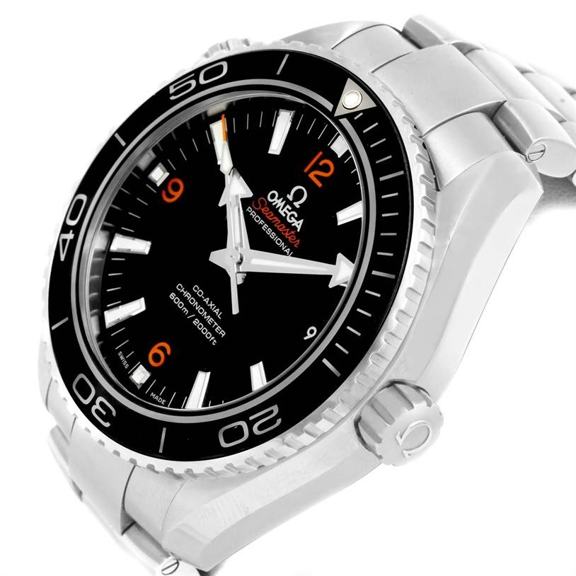 12861 Omega Seamaster Planet Ocean Co-Axial XL Watch 232.30.46.21.01.003 SwissWatchExpo