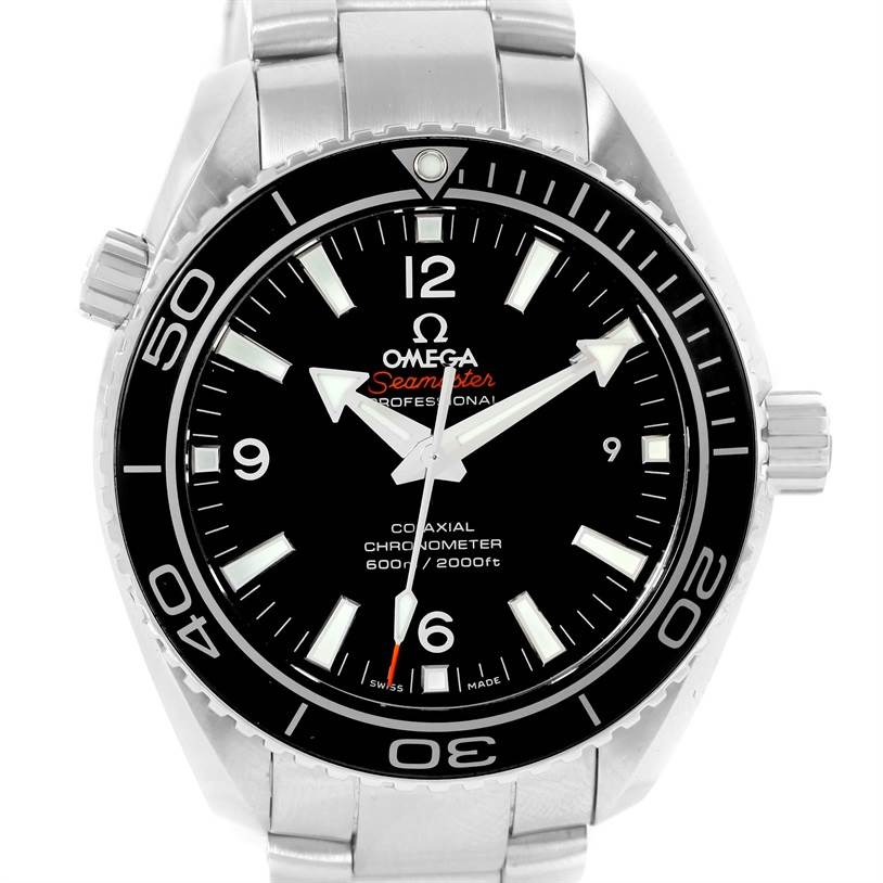 12836 Omega Seamaster Planet Ocean Mens Watch 232.30.42.21.01.001 Unworn SwissWatchExpo