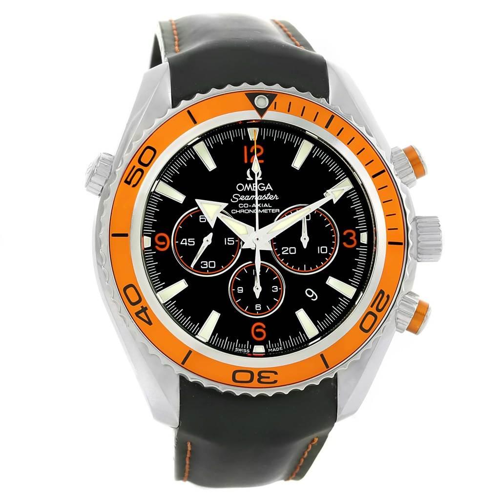 13775 Omega Seamaster Planet Ocean Chronograph Mens Watch 2918.50.82 SwissWatchExpo