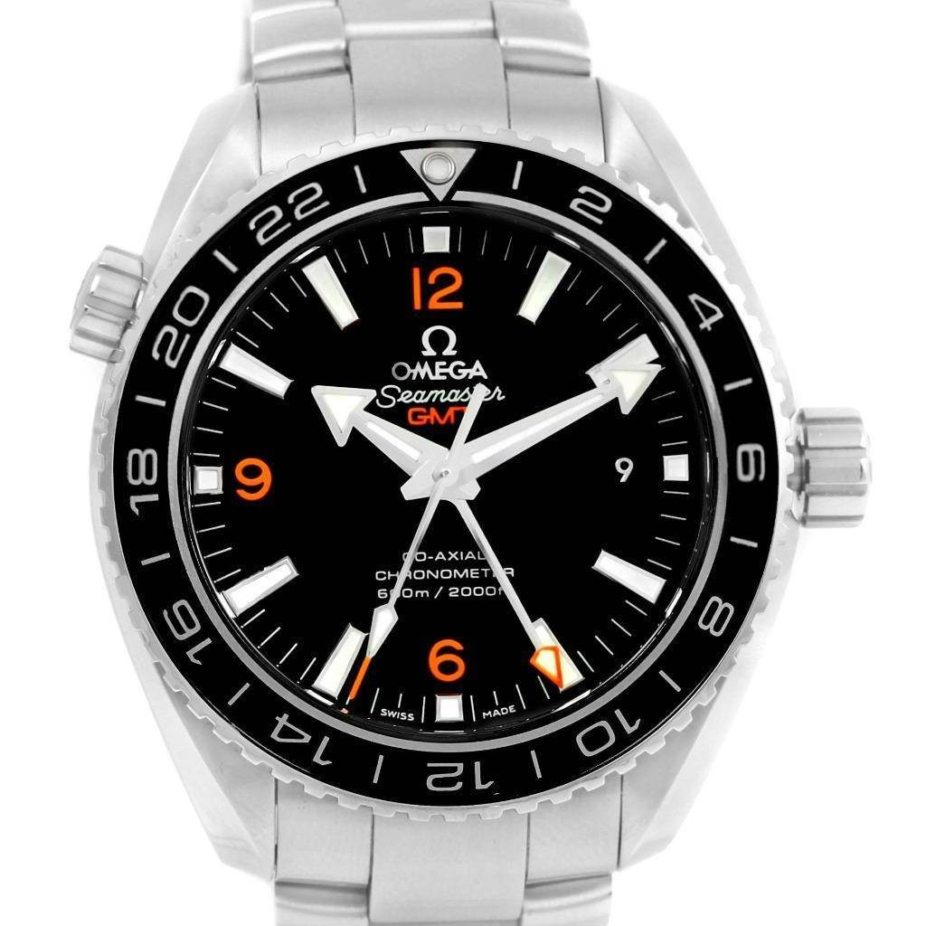 Omega Seamaster Planet Ocean GMT 600m Watch 232.30.44.22.01.002 Unworn