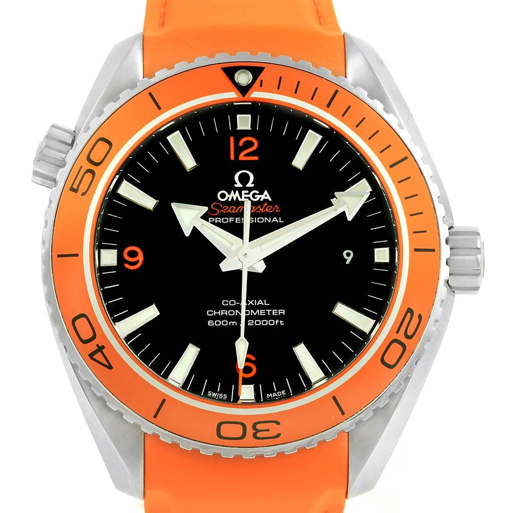e44824e161c03 ... 15766 Omega Seamaster Planet Ocean 600M Watch 232.32.46.21.01.001 Box  Card SwissWatchExpo ...