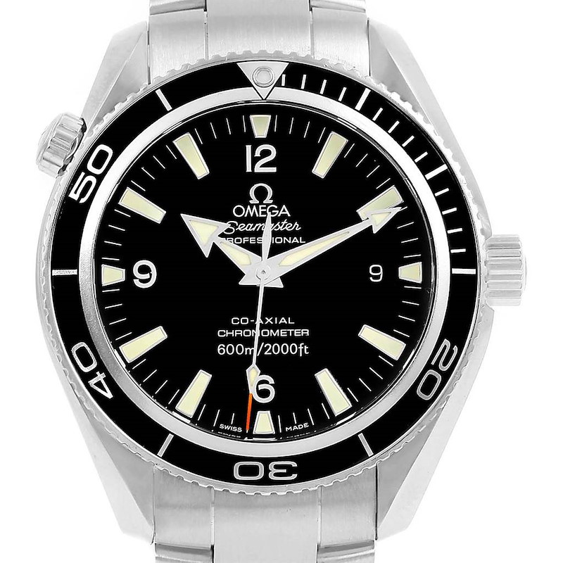 Omega Seamaster Planet Ocean Mens 42mm Co-Axial Watch 2201.50.00 SwissWatchExpo