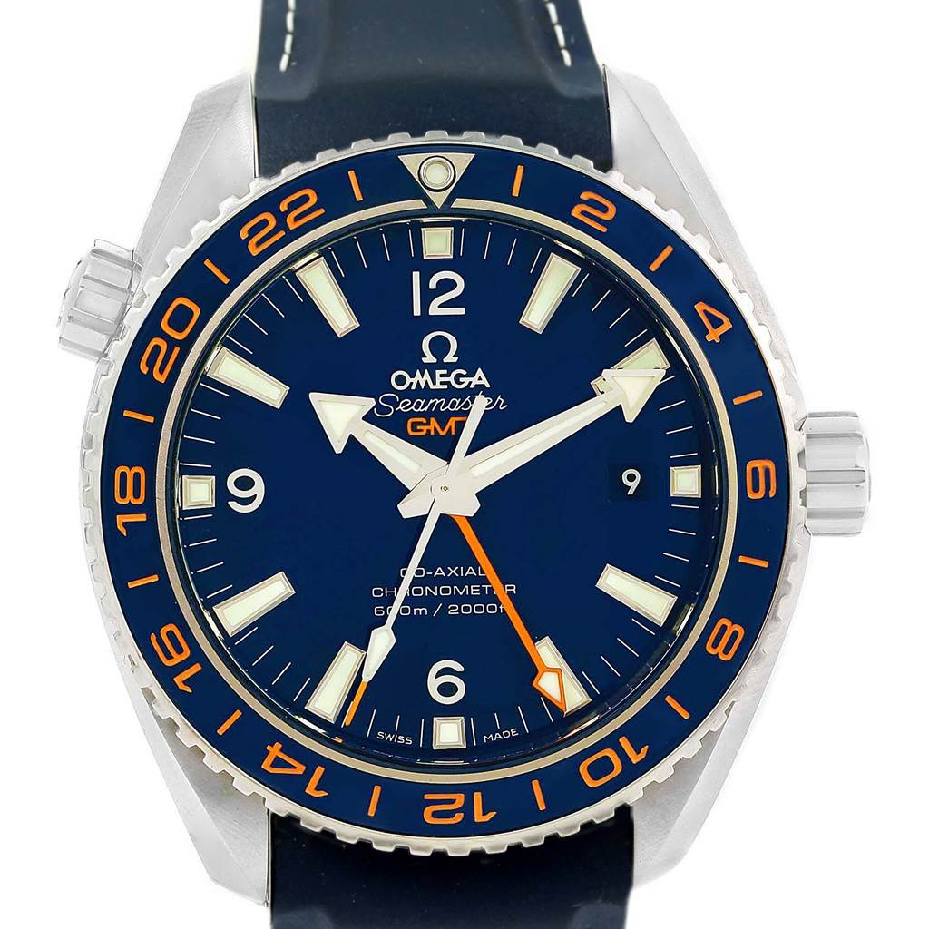 Omega Seamaster Planet Ocean GMT GoodPlanet Watch 232.32.44.22.03.001