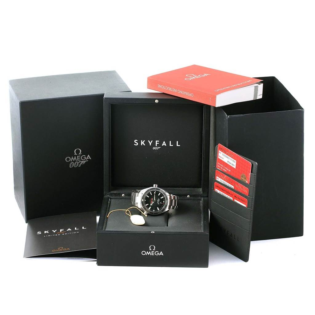 Omega Seamaster Planet Ocean Skyfall 007 LE Watch 232.30.42.21.01.004 SwissWatchExpo