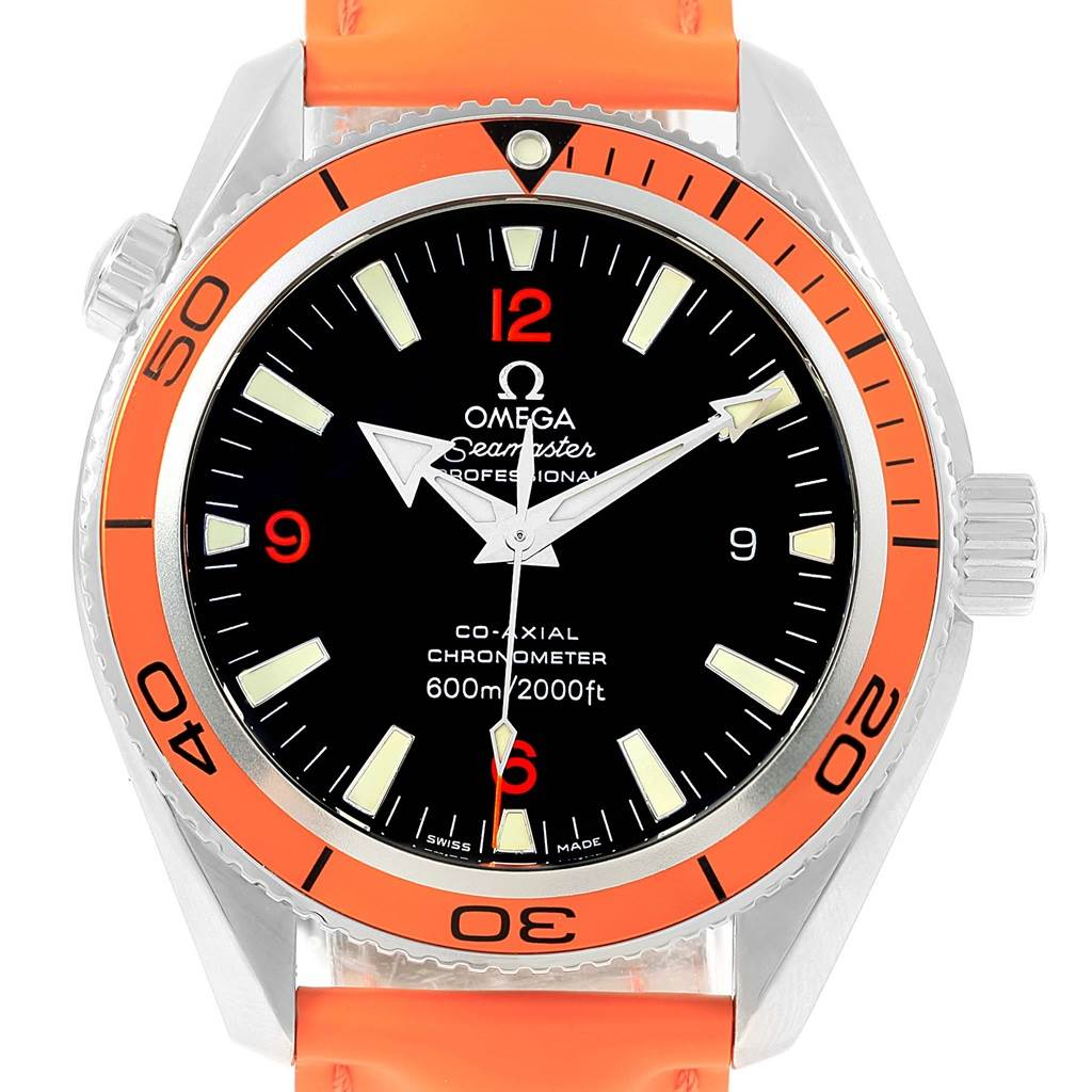 Omega Seamaster Planet Ocean Mens Watch 2909.50.83 Box Papers
