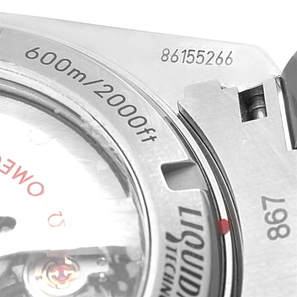 16733P Omega Seamaster Planet Ocean Titanium Watch 232.90.46.21.03.001 Unworn SwissWatchExpo