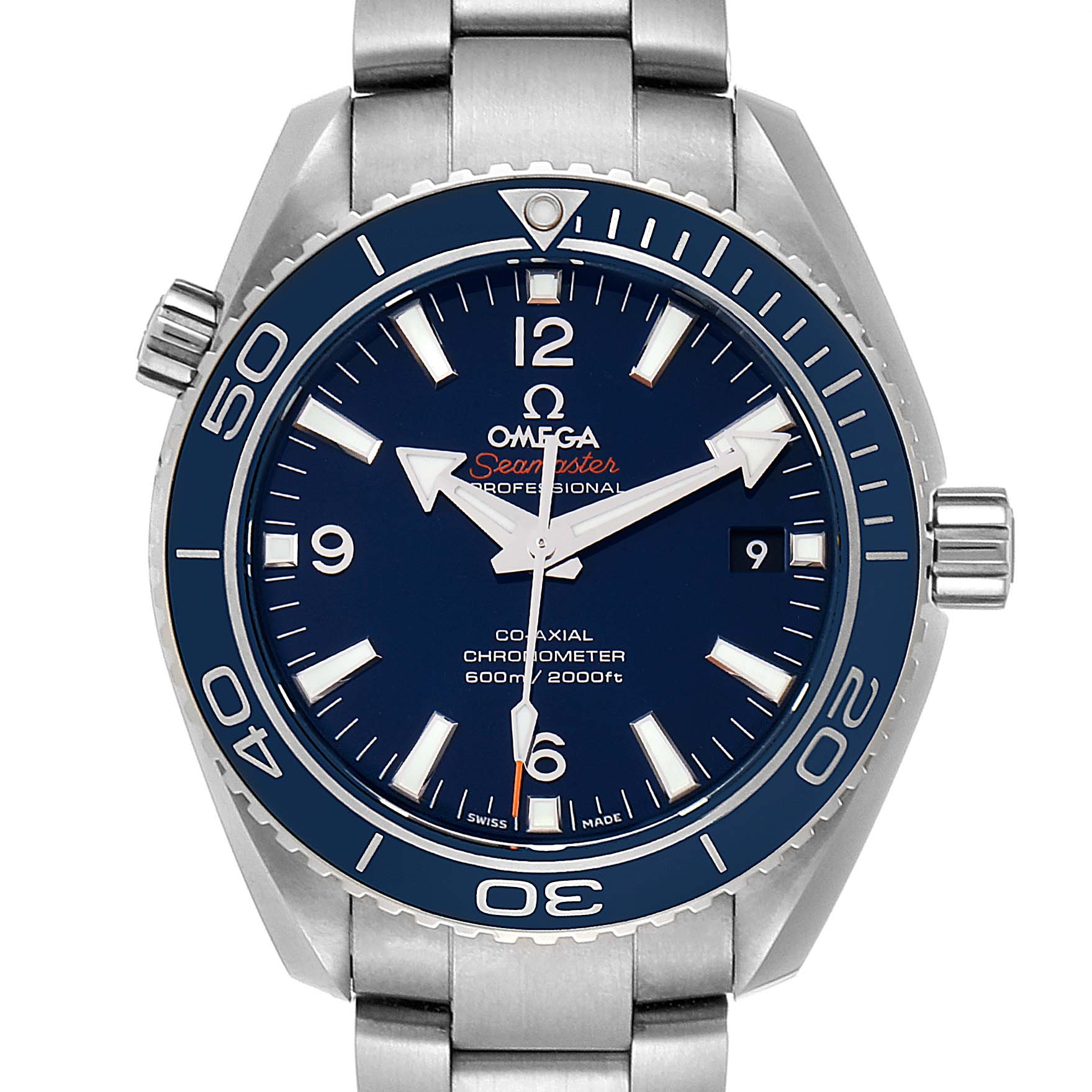 Omega Seamaster Planet Ocean 42mm Watch 232.90.42.21.03.001 Unworn