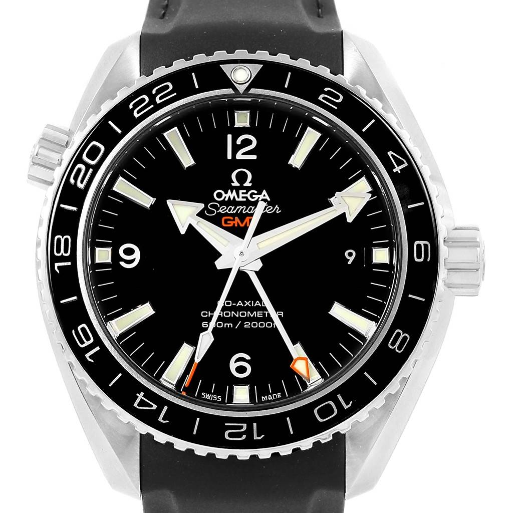 Omega Seamaster Planet Ocean GMT 600m Watch 232.32.44.22.01.001 Box Card