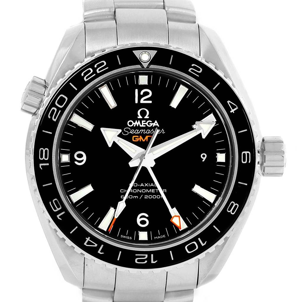 Omega Seamaster Planet Ocean GMT 600m Watch 232.30.44.22.01.001 Unworn