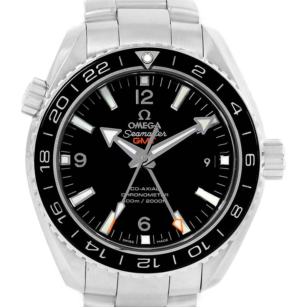 Omega Seamaster Planet Ocean GMT Watch 232.30.44.22.01.001 Unworn