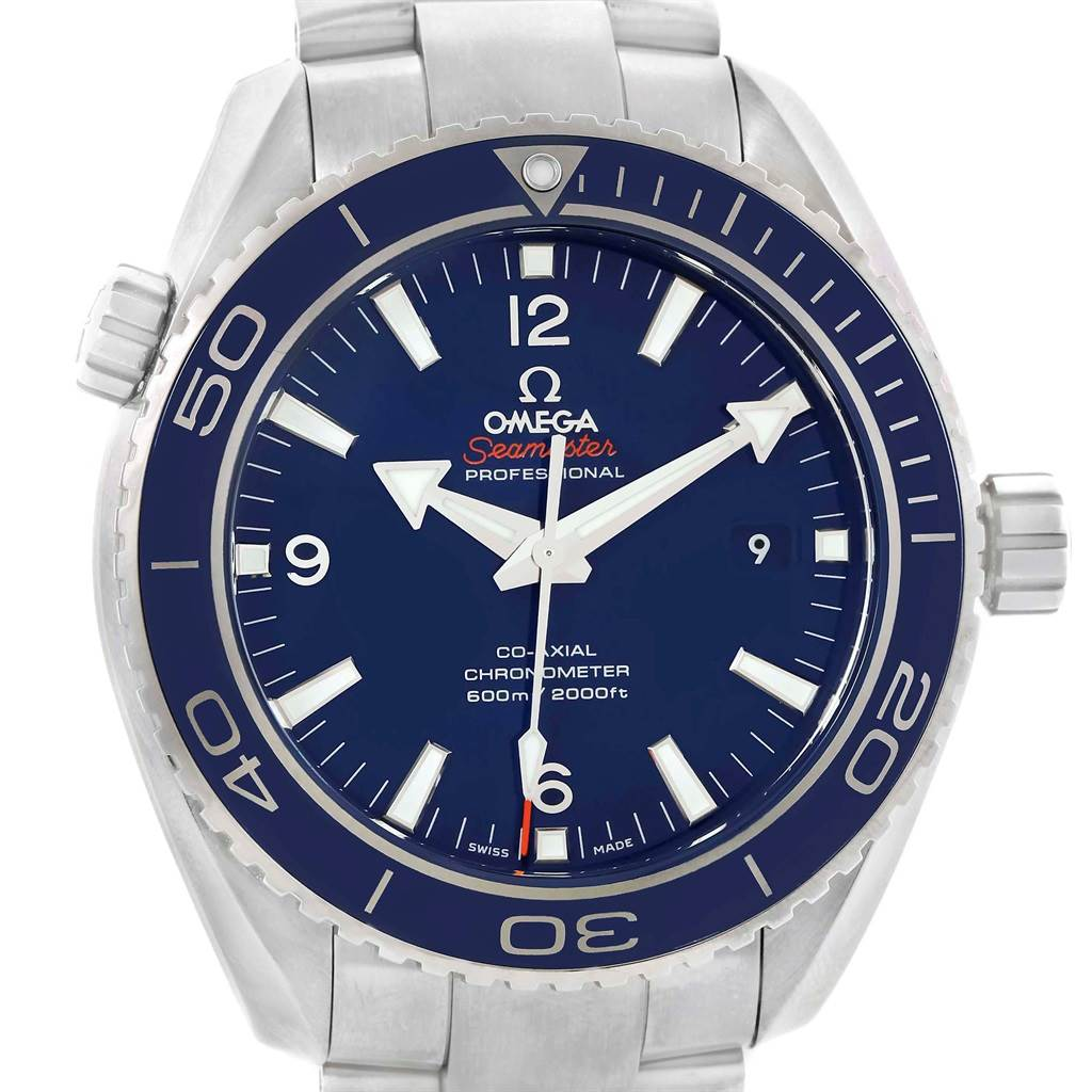 Omega Seamaster Planet Ocean Titanium Watch 232.90.46.21.03.001 Box Card