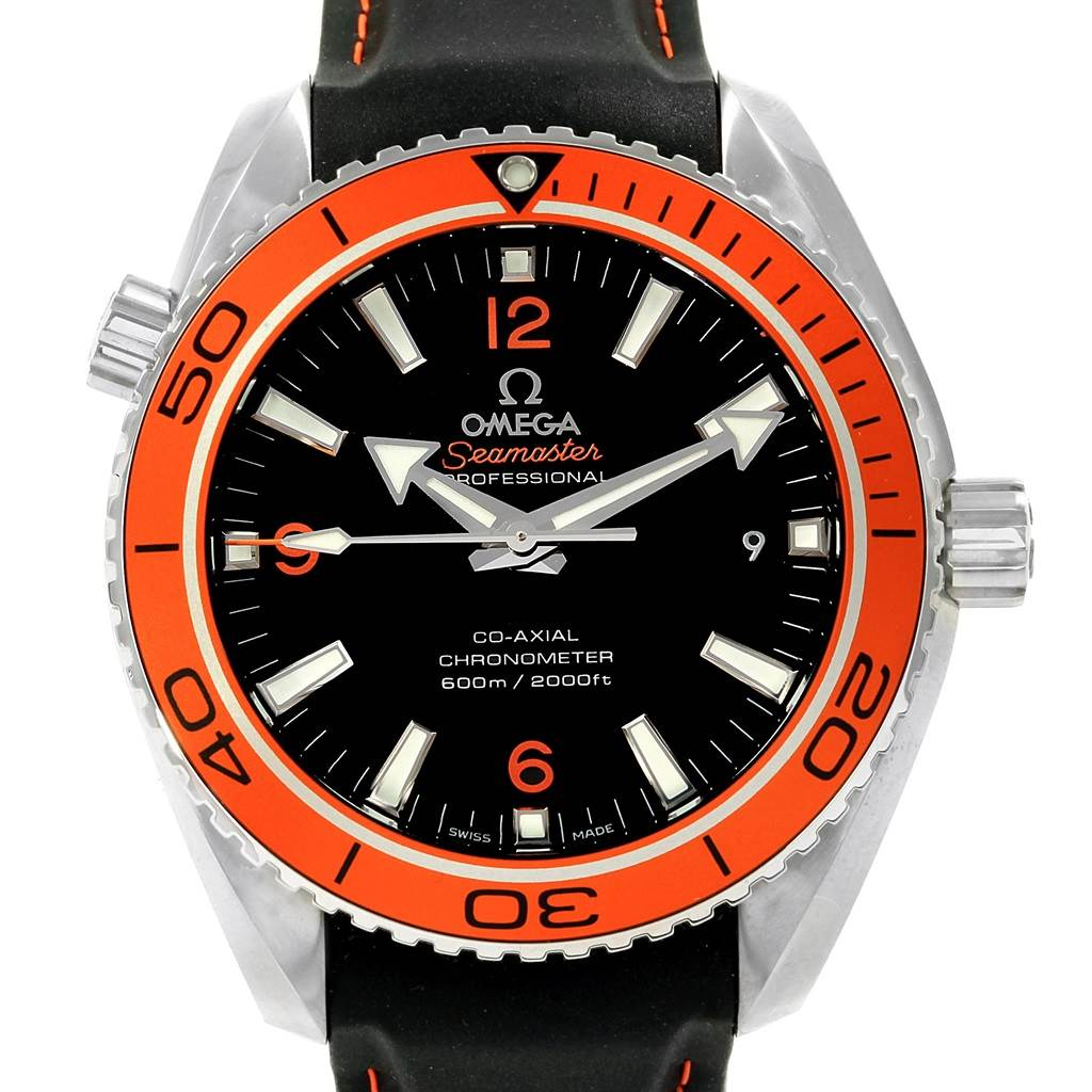 Omega Seamaster Planet Ocean 42mm Watch 232.32.42.21.01.001 Box Card