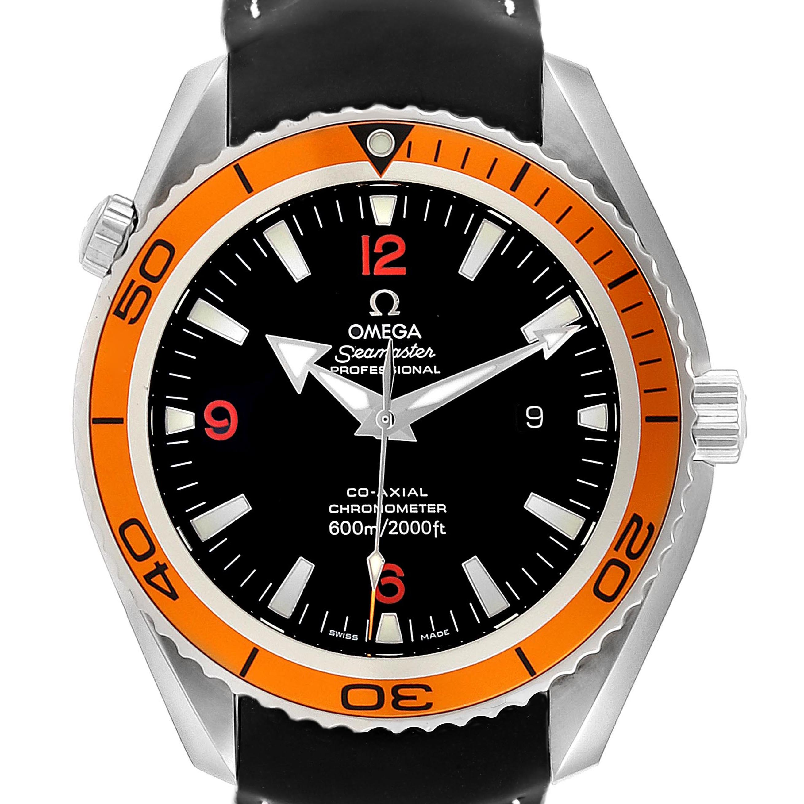 Omega Seamaster Planet Ocean 42mm Steel Mens Watch 232.32.42.21.01.001