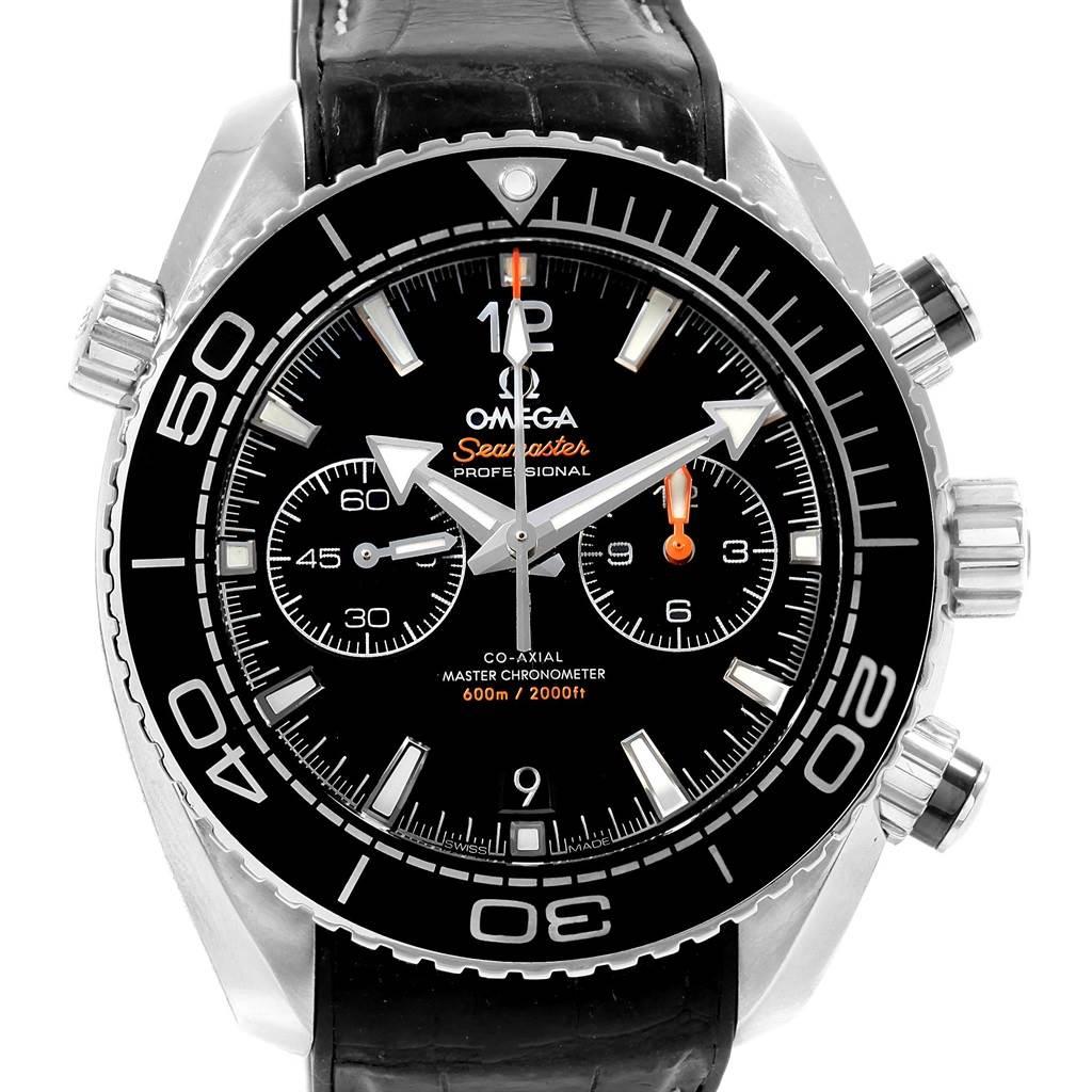 Omega Seamaster Planet Ocean 600m Co-Axial Watch 215.33.46.51.01.001 Box Card