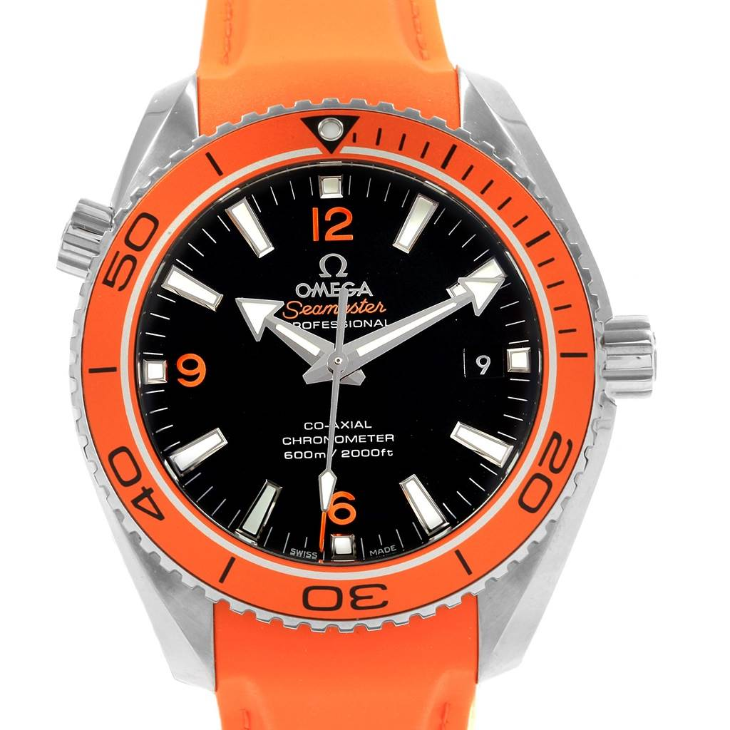 20007 Omega Seamaster Planet Ocean 42mm Watch 232.32.42.21.01.001 Unworn SwissWatchExpo