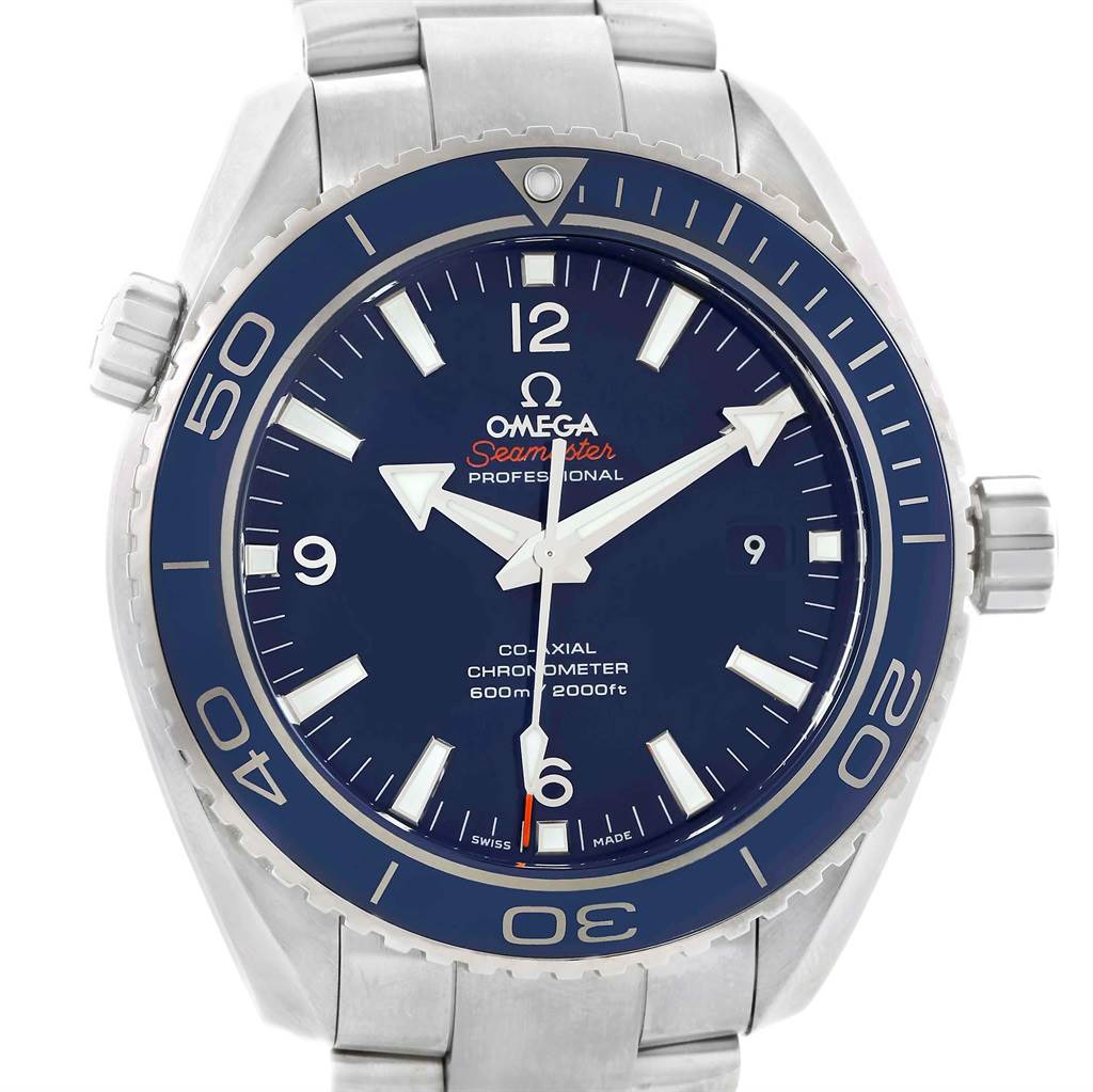 Omega Seamaster Planet Ocean Titanium Watch 232.90.46.21.03.001 Unworn