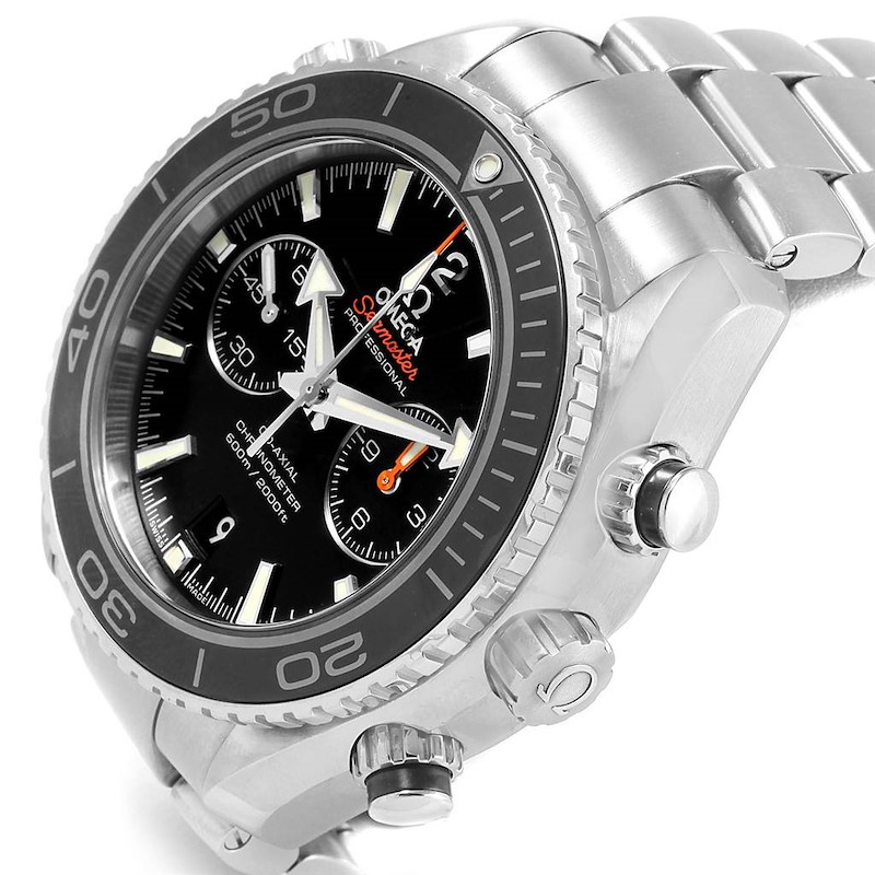 Omega Seamaster Planet Ocean Chrono Watch 232.30.46.51.01.003 Box Card SwissWatchExpo