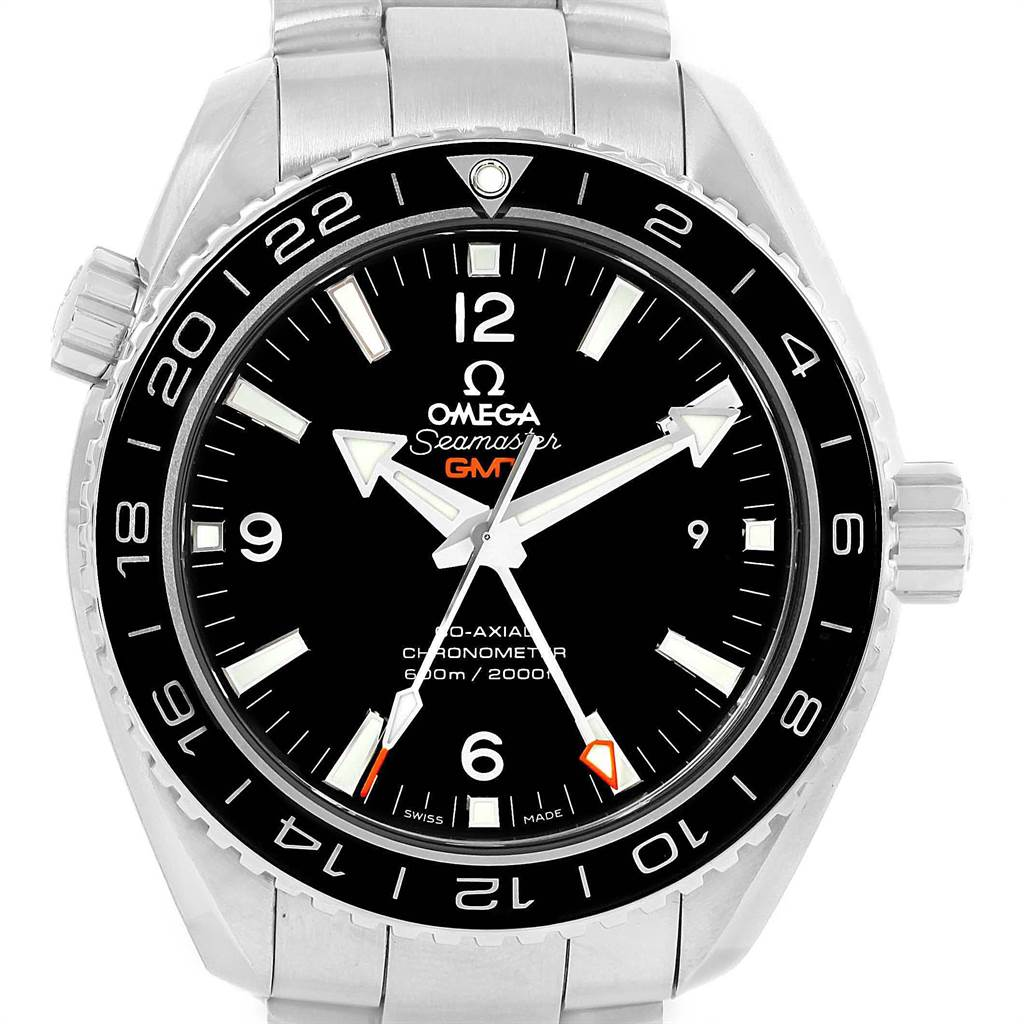 Omega Seamaster Planet Ocean GMT Watch 232.30.44.22.01.001 Box Card