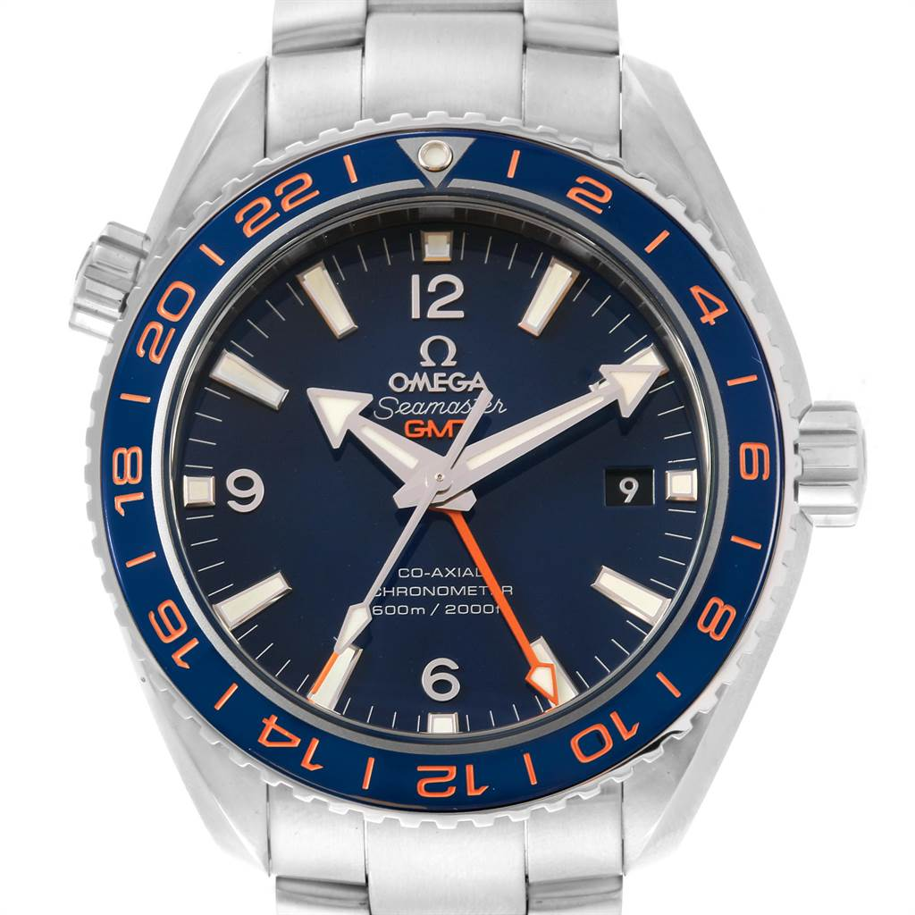 Omega Seamaster Planet Ocean GMT GoodPlanet Watch 232.30.44.22.03.001