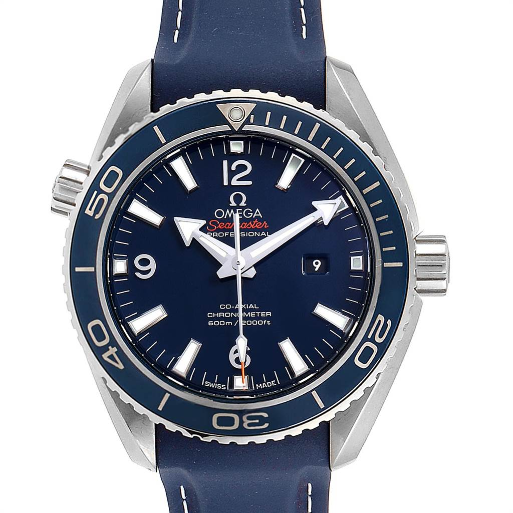 Omega Seamaster Planet Ocean 37.50 Watch 232.92.38.20.03.001 Unworn
