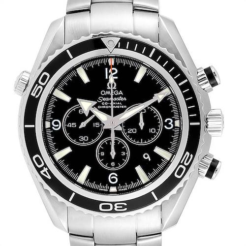 Photo of Omega Seamaster Planet Ocean Chronograph Watch 2210.50.00 Card