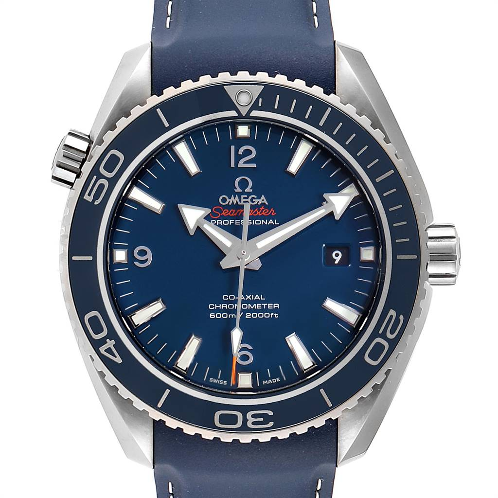 Omega Seamaster Planet Ocean Titanium Watch 232.92.46.21.03.001 Unworn