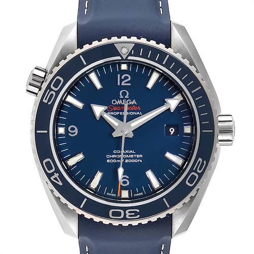 Photo of Omega Seamaster Planet Ocean Titanium Watch 232.92.46.21.03.001 Unworn