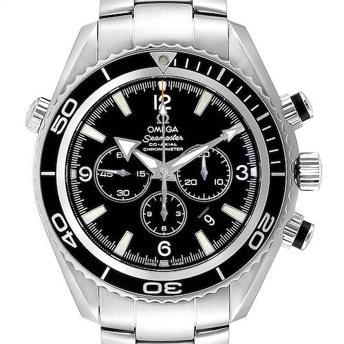 Photo of Omega Seamaster Planet Ocean Chronograph Steel Mens Watch 2210.50.00