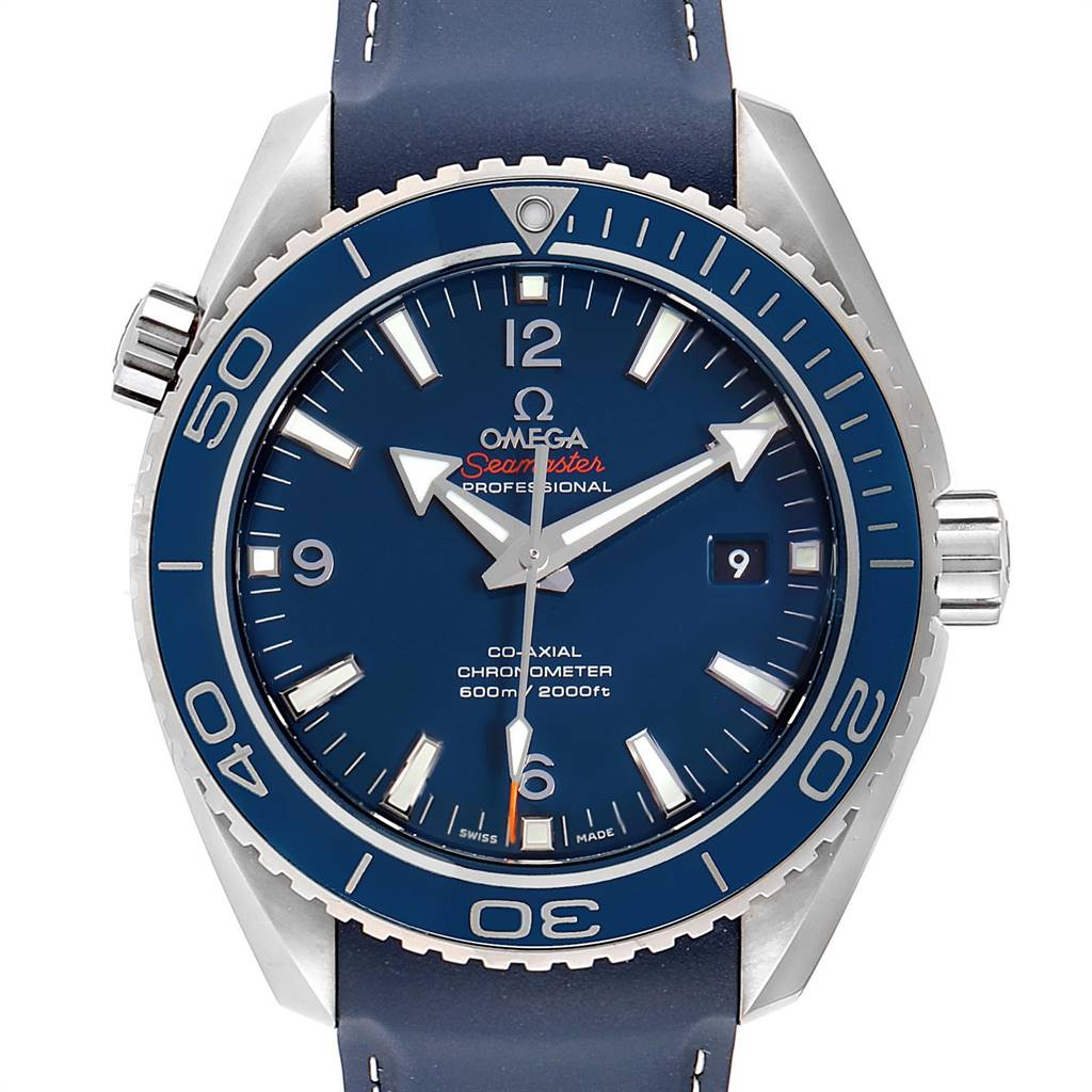 Omega Seamaster Planet Ocean LiquidMetal Watch 232.92.42.21.03.001 Box Card