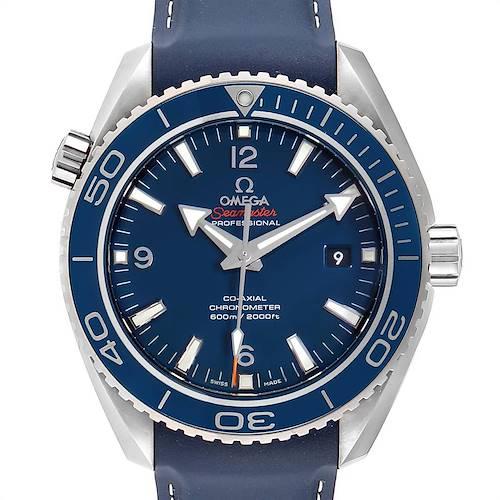 Photo of Omega Seamaster Planet Ocean LiquidMetal Watch 232.92.42.21.03.001 Box Card