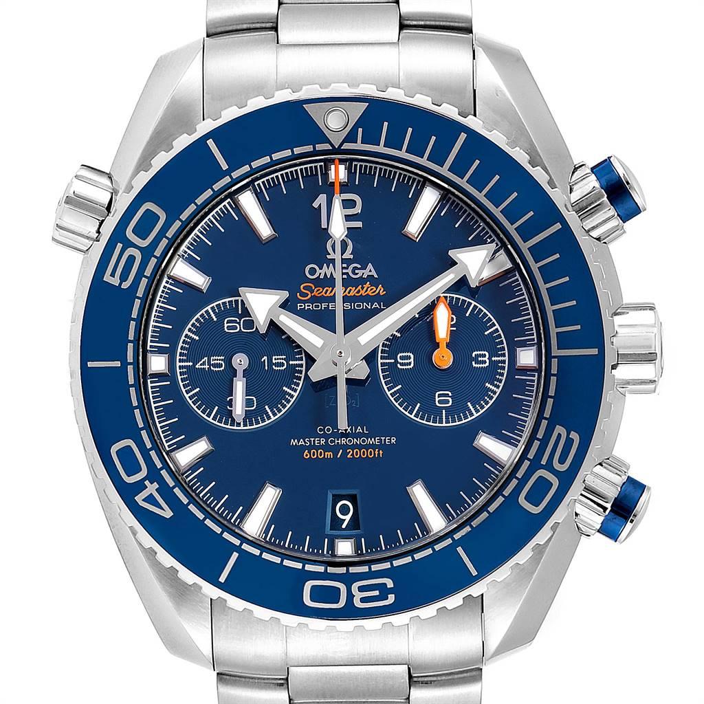 Omega Planet Ocean Blue Dial Steel Mens Watch 215.30.46.51.03.001 Card