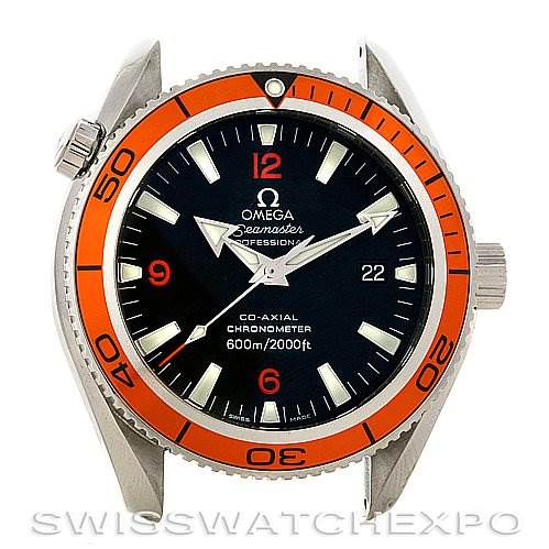 2822 Omega Seamaster Planet Ocean Watch 2909.50.38 SwissWatchExpo